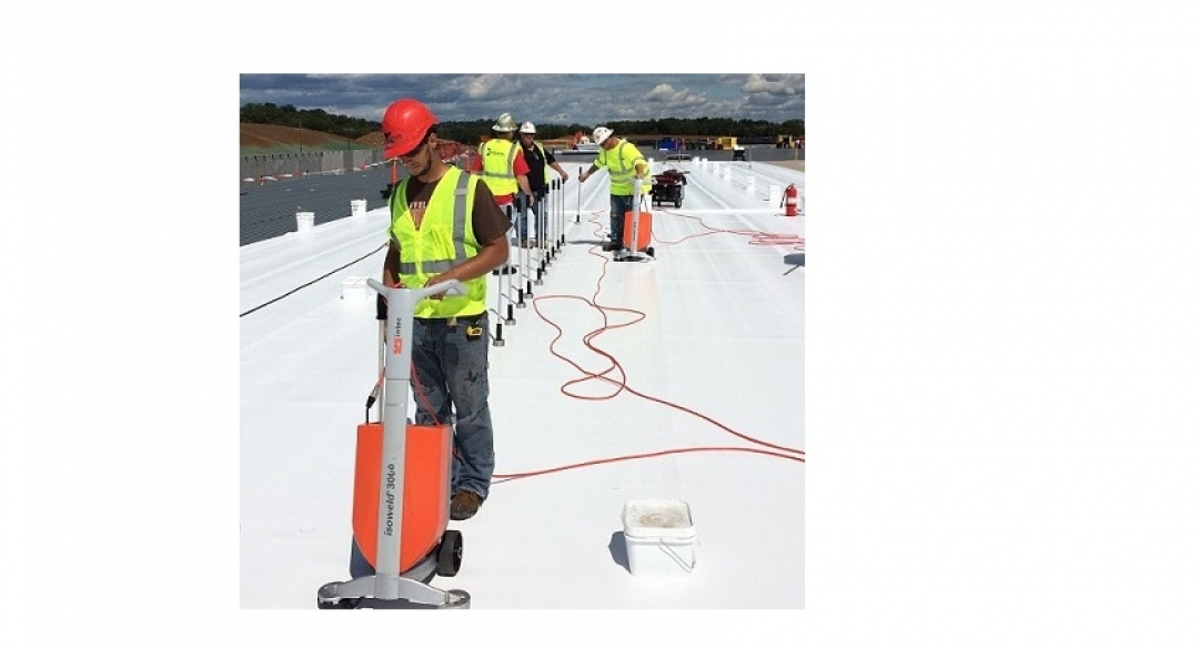 Popularity Increases for Induction Welded Single Ply Roof Systems